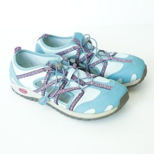 CHACO Outcross Kids' Blue Hiking Shoe  Size 6